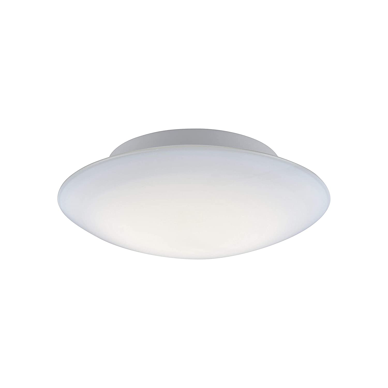 Paul Neuhaus 8103-16 Q-ARKTIS LED Deckenleuchte D= 32cm Smart-Home, RGBW Farbwechsel, dimmbar Fernbedienung, 2700-5000 Kelvin