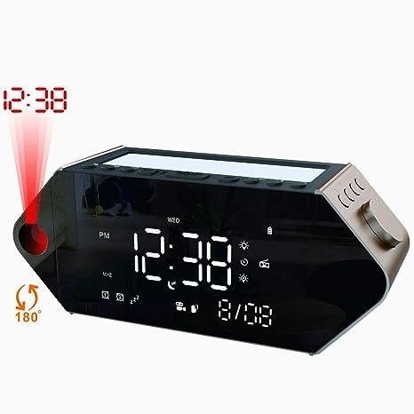 d2d11469f18 Amazon.com  SICSMIAO Alarm Clock for Bedrooms