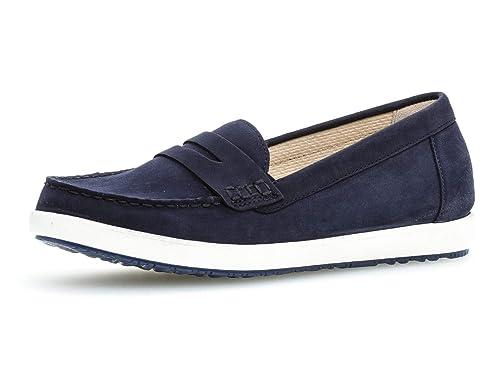 Gabor Schuhe weiß echt Leder komfort Damen Slipper Schuhweite G | eBay