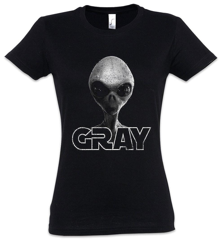 Invader Girlie Ii Shirt Woman Gray Vril T Grey Ufo Alien Haunebu hdQrstC