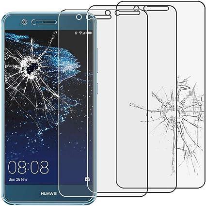 ebestStar - [Lote x3 Cristal Templado Compatible con Huawei P10 ...