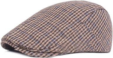 HT1967 Nuevo Otoño Invierno Sombreros para Hombres Casual Vintage ...