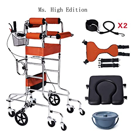 Relaxbx Dispositivo de rehabilitación de pie/Andador/Andador ...
