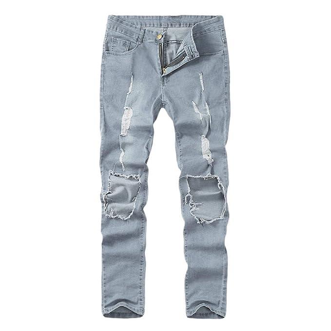 Subfamily Pantalones para Hombre - Pantalones de Mezclilla ...