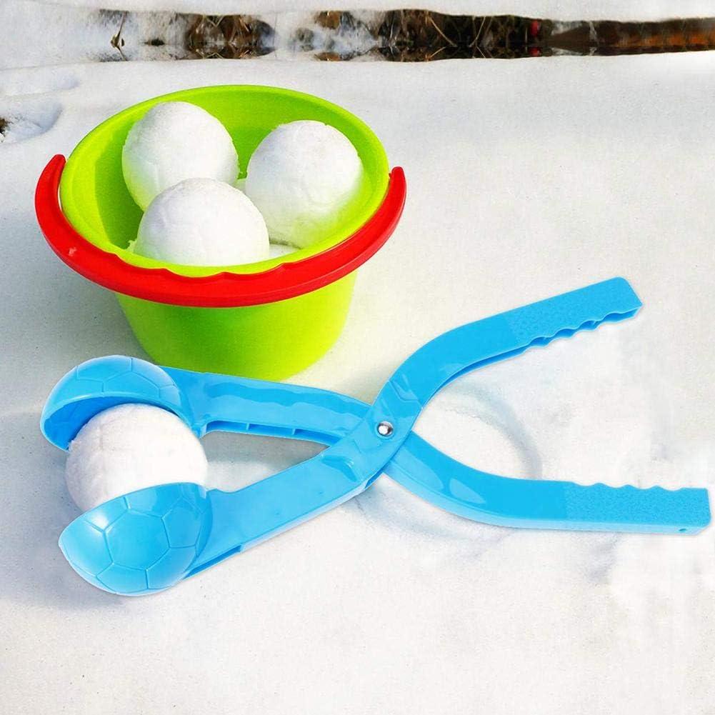 Boules De Neige Jouets dhiver pour Enfants en Plein Air Snowball Maker Couleurs Al/éatoires