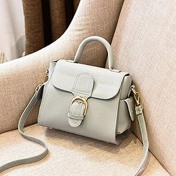 35ab4cff5cb29 OME QIUMEI Die Handtasche Frauen Single Shoulder Bag Lady Kleine Tasche Grau