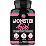 Monster Girl, Women's Pre-Workout + Recovery by Angry Supplements, Apple Cider Vinegar & Garcinia Cambogia for Weight Loss &
