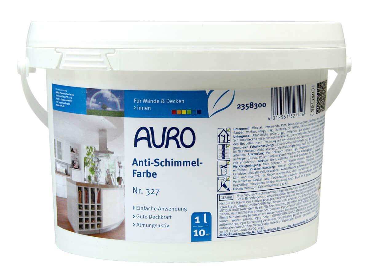 Relativ Auro Anti-Schimmel-Farbe-1,00 l: Amazon.de: Baumarkt JQ87