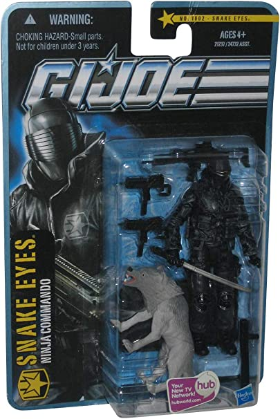 Snake Eyes Ninja Commando GI Joe Action Figure