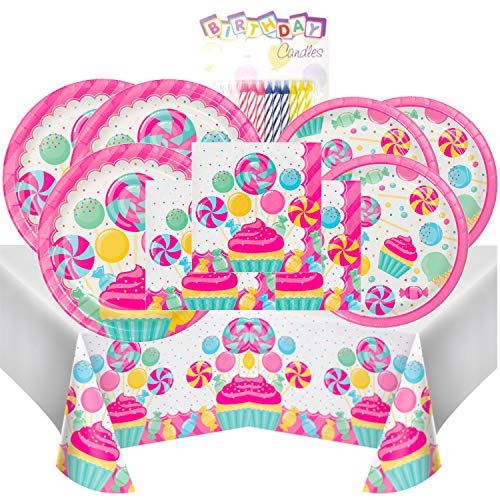 - Candy Bouquet Themed Party Pack - Includes 24 9