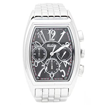 b0c4bf67d3 Amazon | [エルジン]ELGIN 腕時計 クロノグラフ FK1215S-B メンズ | 国内 ...