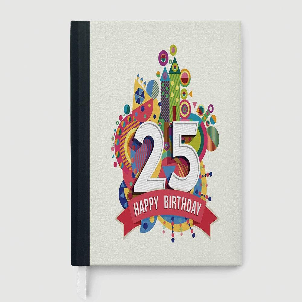 Amazon Portable Notebook 25th Birthday Decorations Fun