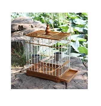 Yanxinenjoy Jaula de baño de Jaula de pájaros de plástico Duradera ...