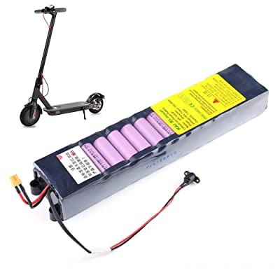 Walmeck- 36V 7800mAh Lithium Battery Rechargeable Replacement Battery for Smart Foldable Electric Scooter: Toys & Games