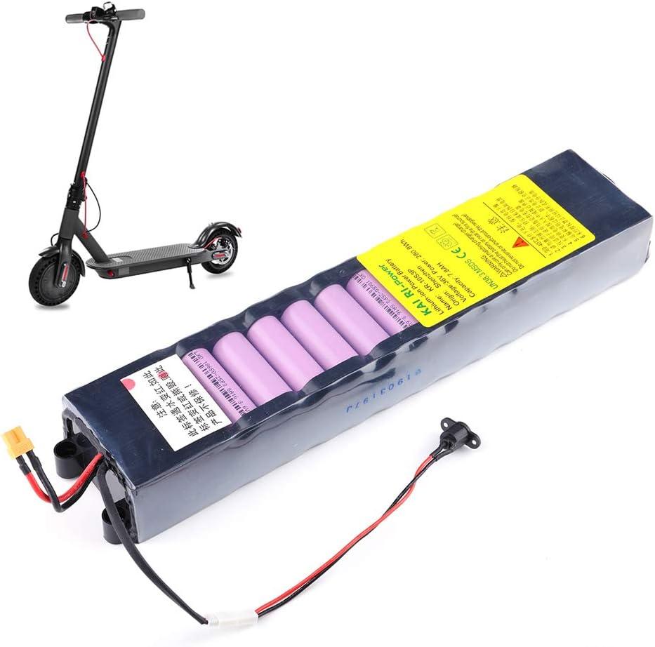 Decdeal 36V 7800mAh Batería de Litio Batería de Repuesto Recargable para Scooter Inteligente Eléctrico Plegable