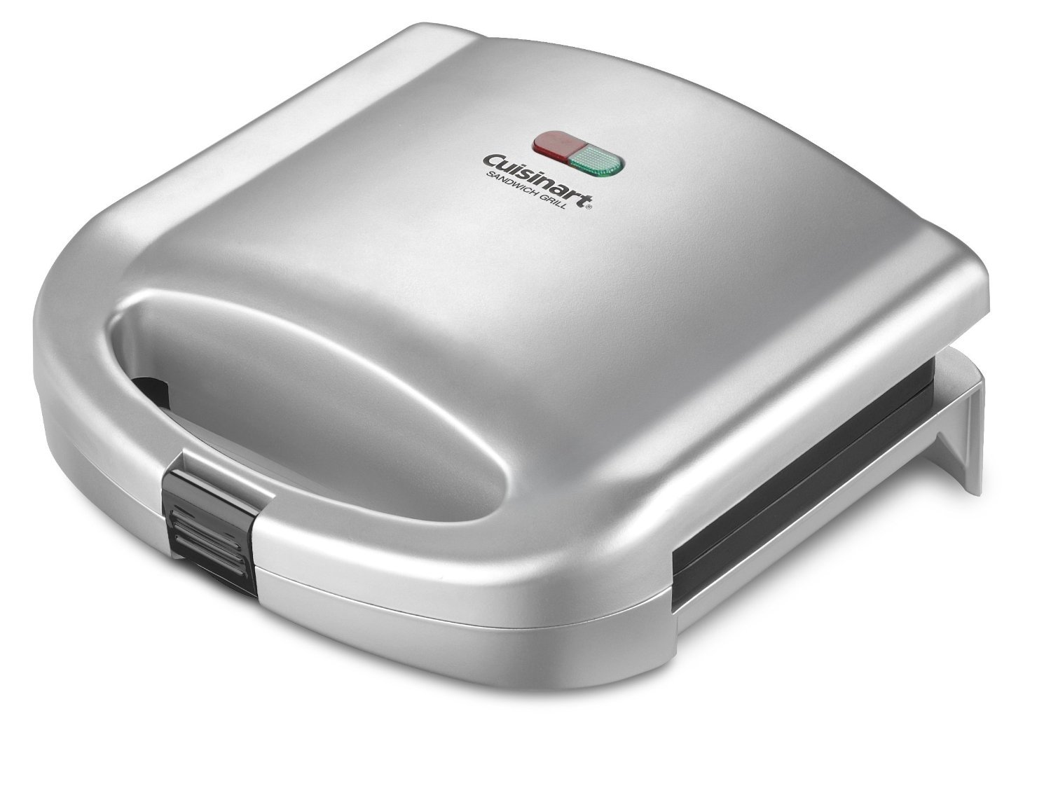 Cuisinart WM-SW2NFR Sandwich Grill, Silver (Certified Refurbished)