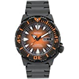 Seiko Men's SRP311J1 2nd Generation Monster Analogue Automatic Black Stainless Steel Watch