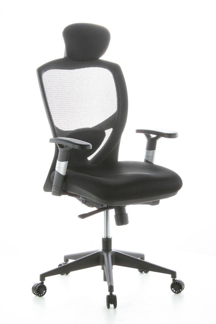 HJH Office VENUS BASE Silla de oficina Negro 48.0x63.0x124.0 cm: Amazon.es: Hogar
