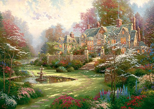 Beyond Spring Gate (Schmidt Puzzle 2000 pieces - The country house, Thomas Kinkade (cod.57041))