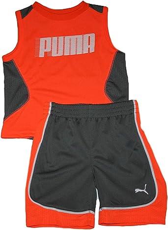 PUMA Baby Boys Tank /& Short Set