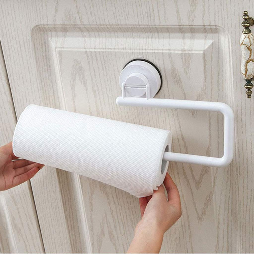 SM SunniMix K/üchenzubeh/ör Saugnapf Klopapierhalter Handtuchhalter ohne Bohren