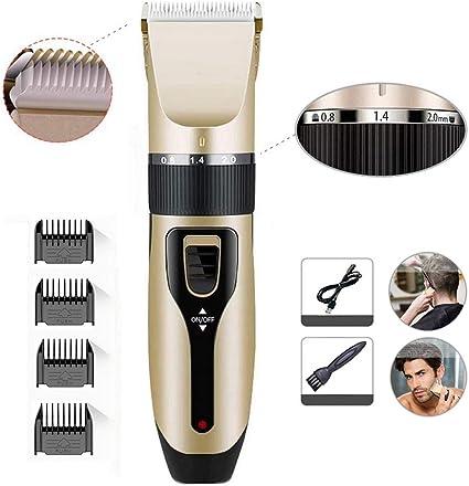 Cortapelos para hombres Kit de corte de cabello profesional ...