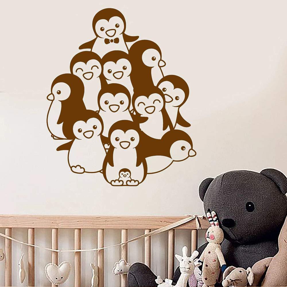 Pingüinos Bebé Habitación Animales Guardería Niños Arte Murales ...
