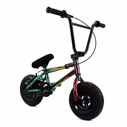 0b66adf3b00 Image Unavailable. Image not available for. Color: Fatboy Assault BMX Mini  Bike ...