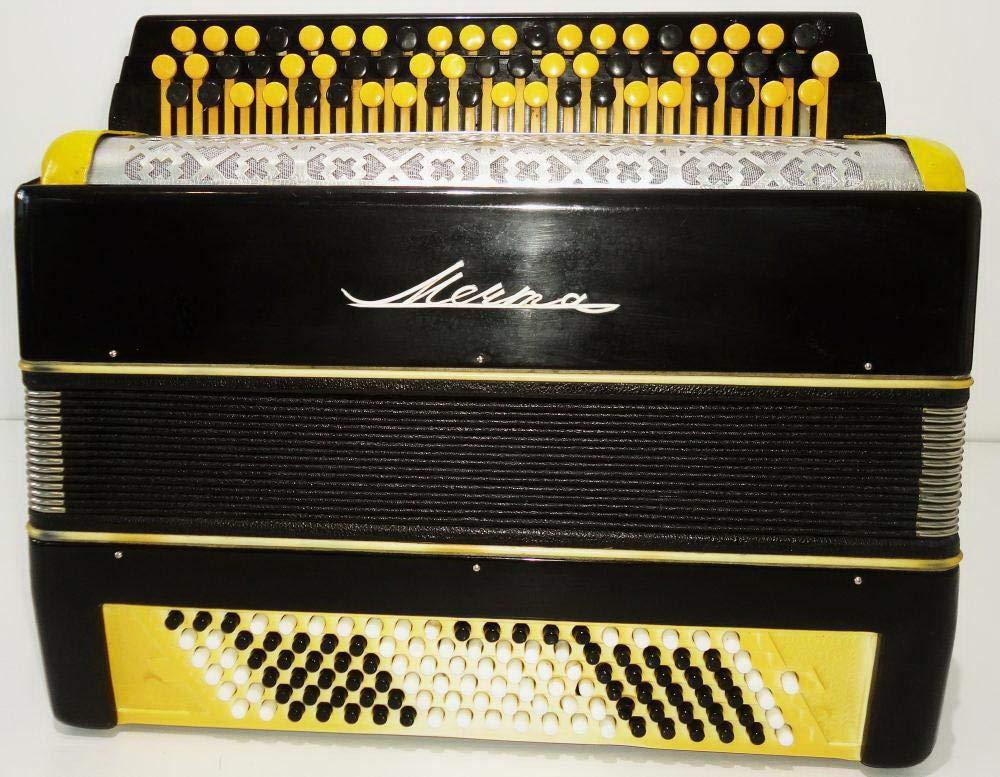 Amazon.com: Bayan Mechta 120 Bass, 3 filas rusa botón ...