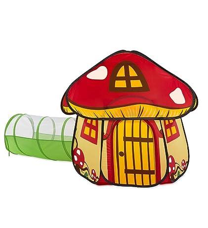 Fairy Village Play Tent in Mushroom  sc 1 st  Amazon.com & Amazon.com: Fairy Village Play Tent in Mushroom: Toys u0026 Games