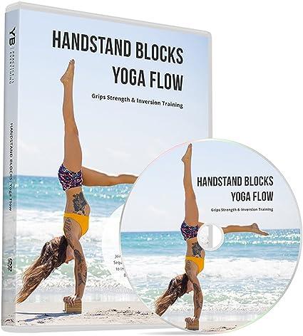 Amazon.com: Handstand bloques Yoga flujo [oficial] DVD y PDF ...