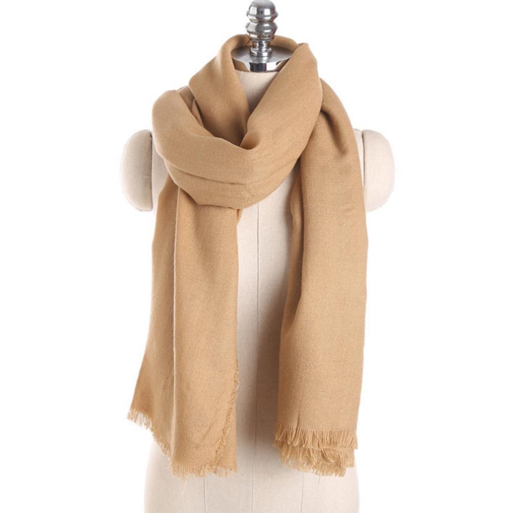 SALY Mujeres otoño e invierno bufanda gruesa de largo , 200*100cm