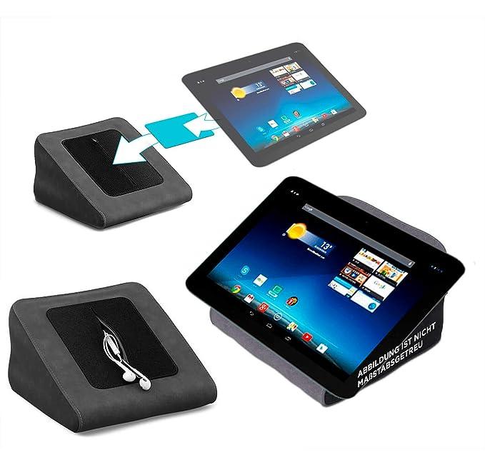 Tablet Kissen für das Medion Lifetab E10320 - ideale iPad Halterung, Tablet Halter, eBook-Reader Halter für Bett & Couch