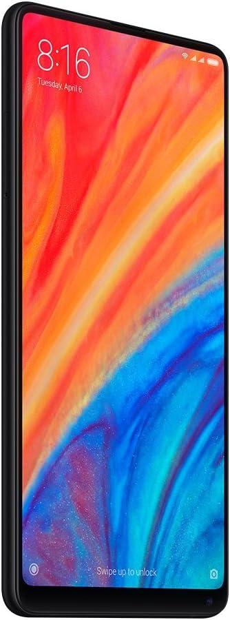 """Xiaomi MI Mix 2S Smartphone 6GB RAM, ROM 64GB, Dual SIM, 5.99 """", Negro"""
