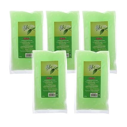 MagiDeal 5 Paquetes de 450G Bolso de Cera de Parafina Líquido para Tratamiento de Mano Pie