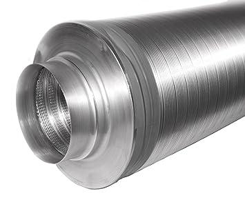 Intelmann telefonieschalldämpfer Ø 125 50 mm isolierung l= 1000mm