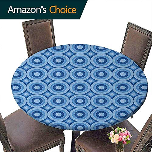 Large Round Tablecloth 43
