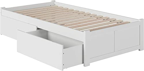 Atlantic Furniture 2 Concord Platform 2 Urban Bed Drawer