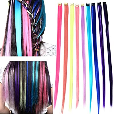 Remylady® 7colors Synthetic Clip-in Synthetic Wavy Hair Extensions