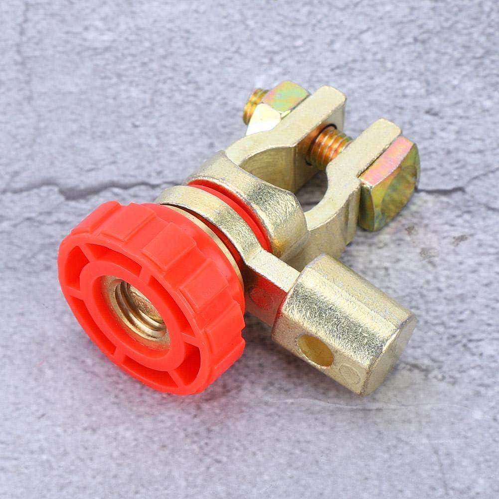 terminal de enlace de corte r/ápido desconexi/ón Master Isolator Aramox Interruptor de bater/ía interruptor de apagado de bater/ía de coche