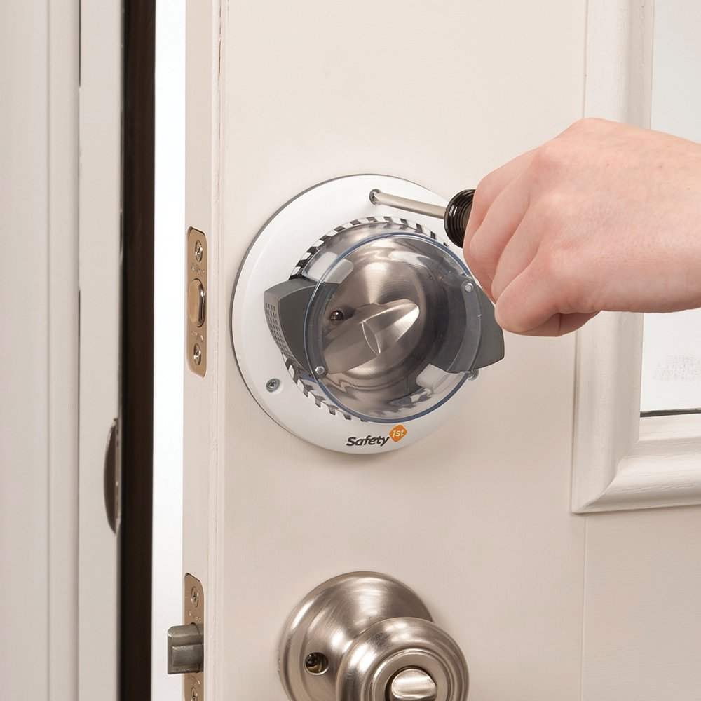 Amazon.com : Safety 1st Secure Mount Deadbolt Lock : Door Dead Bolts : Baby