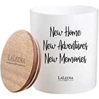 New Home Candle - Laleena - Lavender Scented Candle - New Home Gifts - Best Housewarming Gifts - New Homeowners Gift…