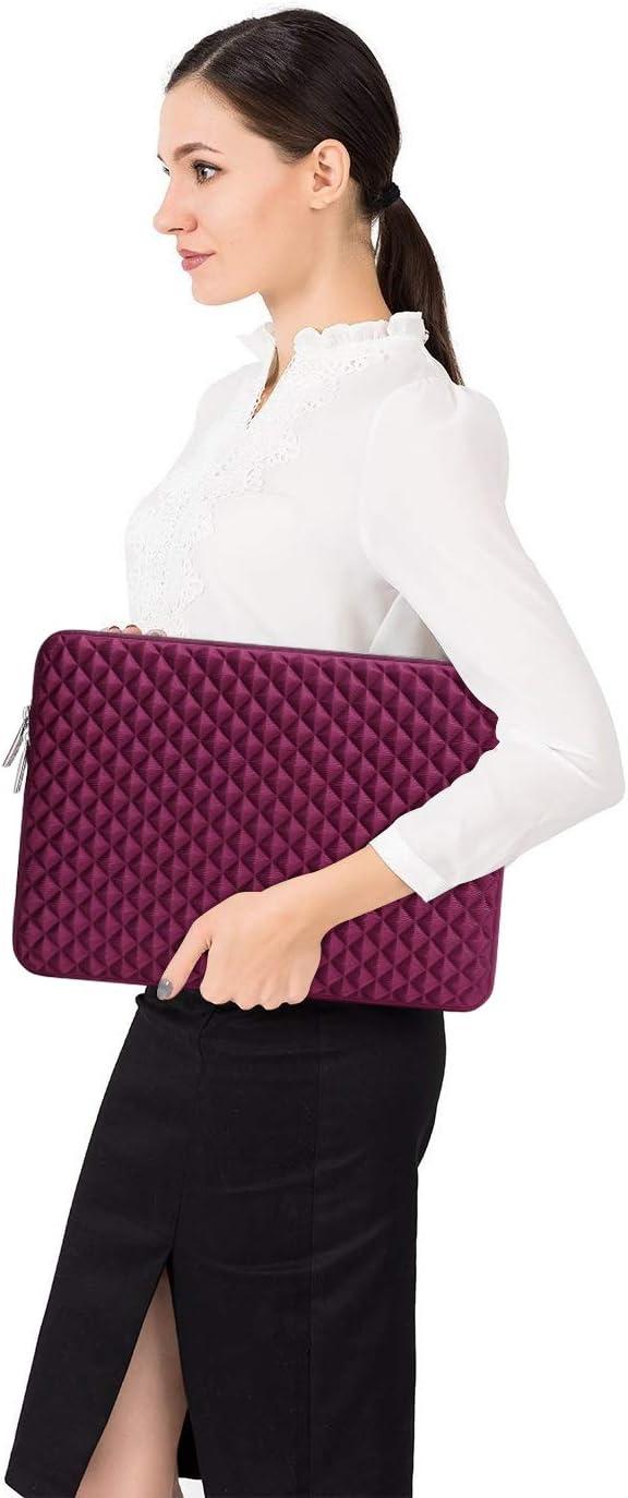 MacBook Air Notebook Tablet Anti-Chocs N/éopr/ène Hydrofuge Laptop Sleeve avec Petite Pochette Bleu Marin MOSISO Housse Compatible avec 13-13,3 Pouces MacBook Pro