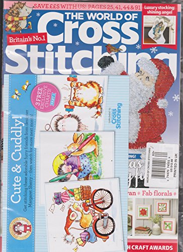 (The World of Cross Stitching Magazine Issue 262 | 3 Cute & Cuddly Charts Included)