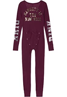 8fd856f032 Victoria s Secret PINK Onesie Pajamas at Amazon Women s Clothing store