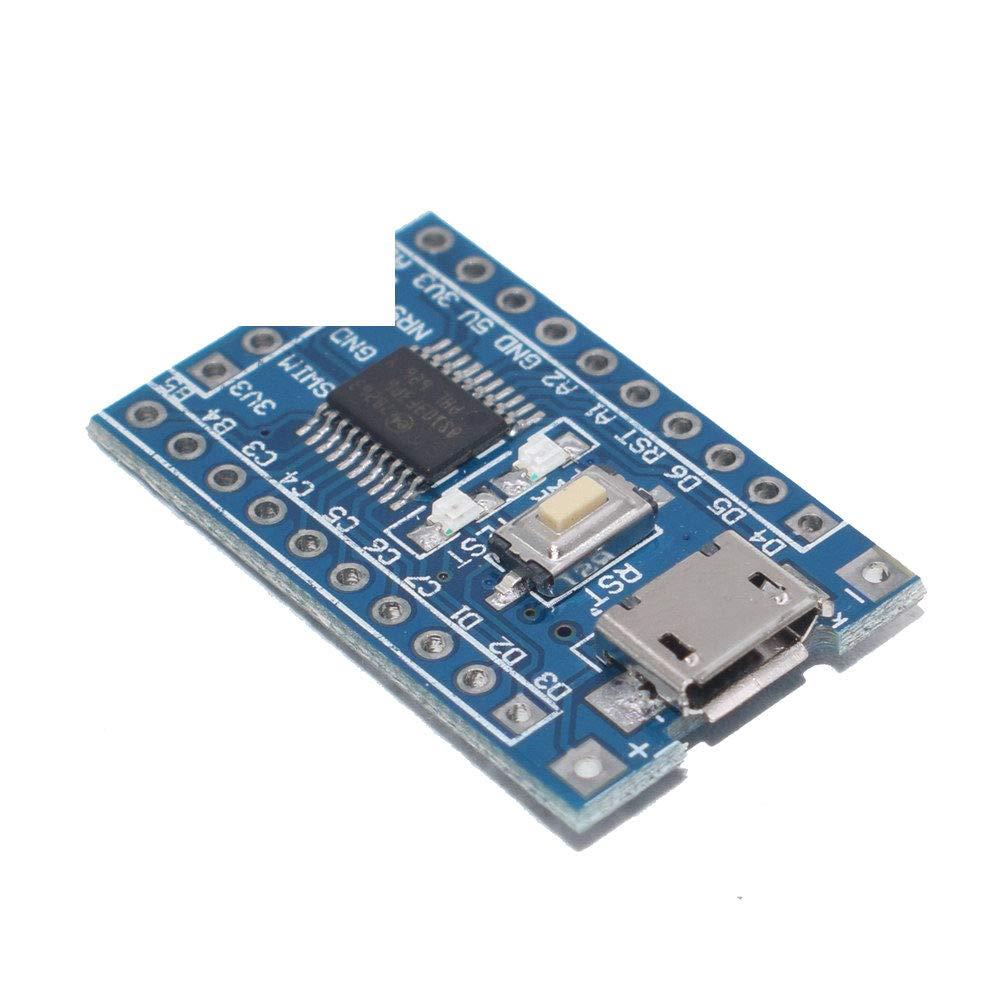 STM8S103F3P6 Development Board STM8S STM8 Minimum System Core Board Module LED Indicator 5V//3.3V for Arduino