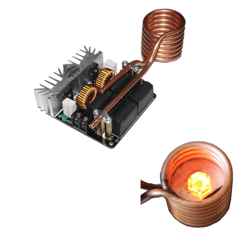 Ampseven 1000w Zvs Low Voltage Induction Heating Board Transformer Tesla Coil Driver On Heater Schematic Diagram Module With Home Audio Theater