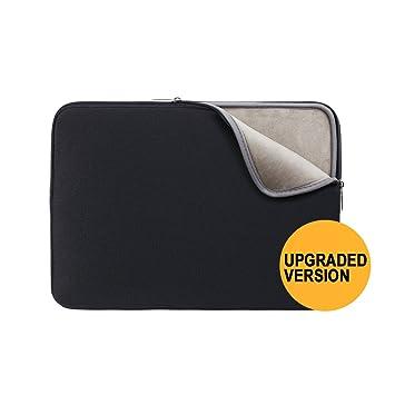 Funda para ordenador portátil de RAINYEAR, cubierta protectora acolchada de neopreno, ideal para transportar dispositivos tales ...
