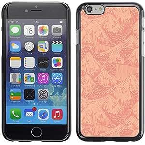 CASECO Mountains Apple Iphone 6 Plus 5.5 - - Prima Delgada SLIM Casa Carcasa Funda Case Bandera Cover Armor Shell PC / Aliminium