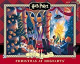 New York Puzzle Company - Harry Potter Christmas at Hogwarts - 500 Piece Jigsaw Puzzle